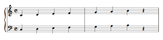 Rigo Pentagramma Pianoforte